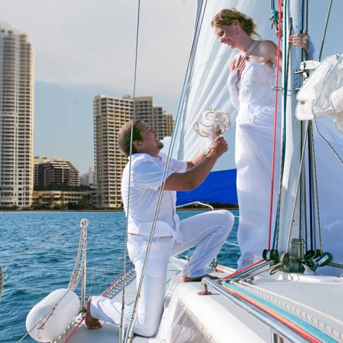 Wedding Proposal Yachts Cancun Luxury Charters
