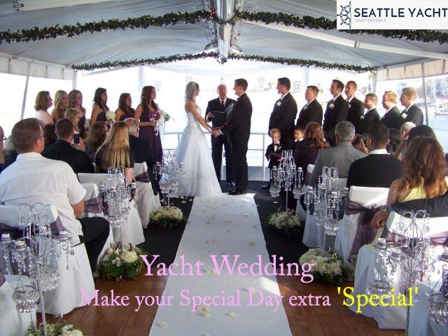 Wedding Yacht Charters Seattle