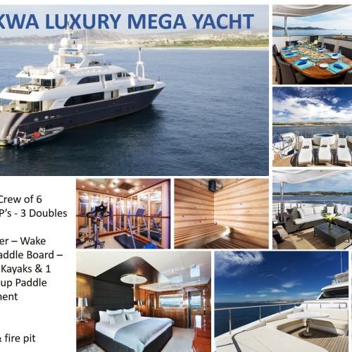Komokwa Luxury Mega Yacht 2010