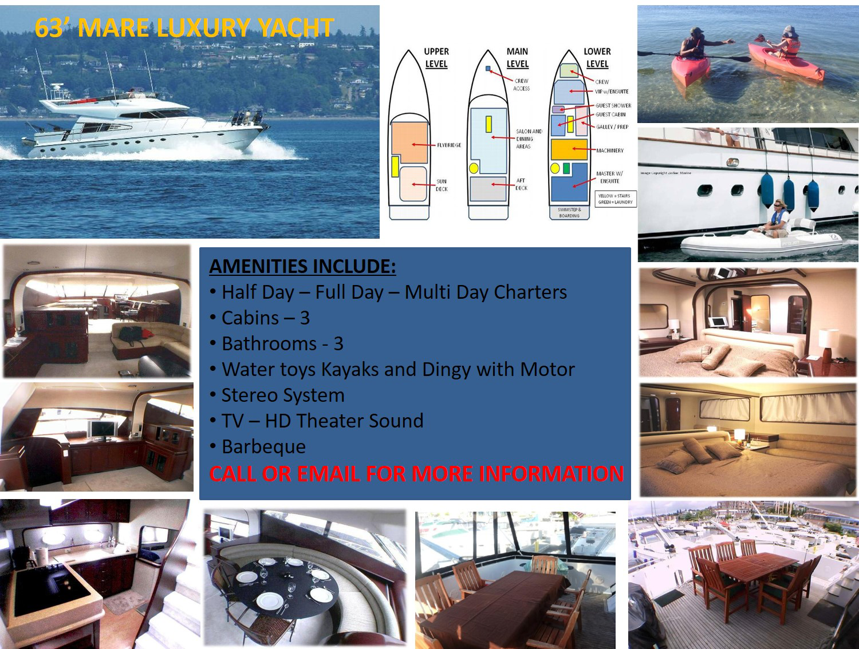 63 Mare Luxury Yacht